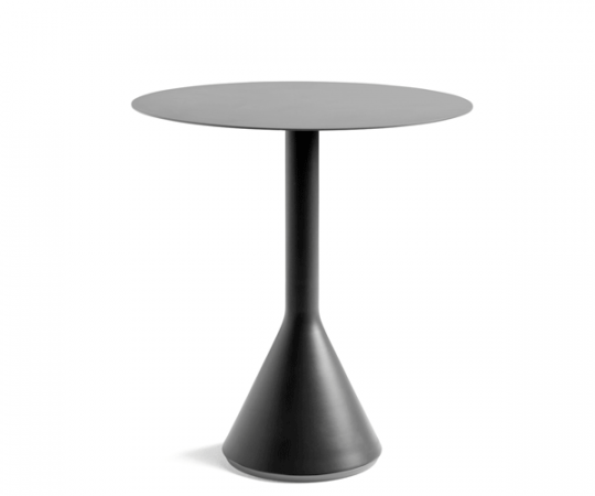 HAY Palissade Cone Table - Dia.70cm. - Anthracite