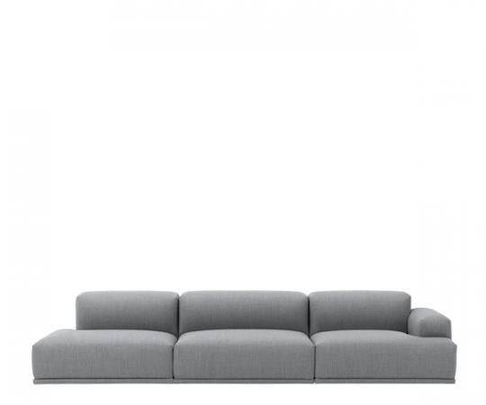 Muuto Connect Sofa - Open end - Fiord 151