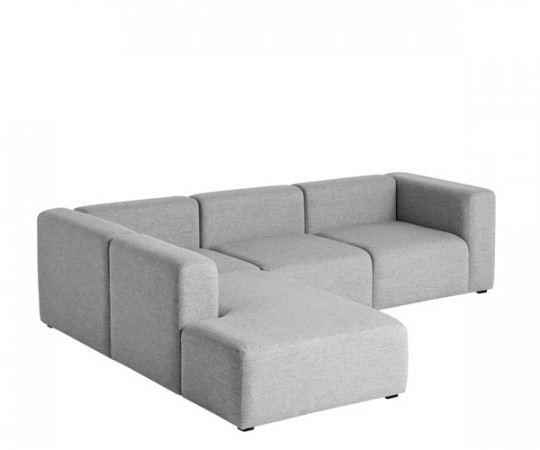 HAY Mags Sofa - Corner Combination 2 - Steelcut 133