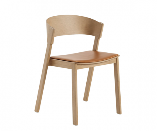 Muuto Cover Side Chair - Eg · Cognac Læder
