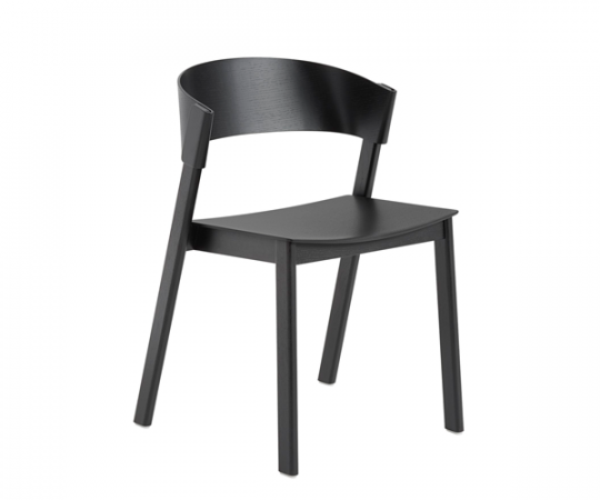 Muuto Cover Side Chair - Sort Eg