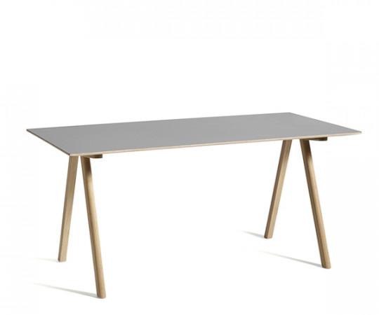 HAY CPH10 Desk - Grå Linolium