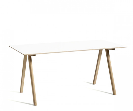 HAY CPH10 Desk - Hvid Laminat