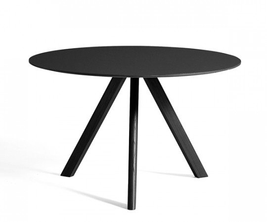 HAY CPH20 Round Table - Ø120xH:74cm - Sort