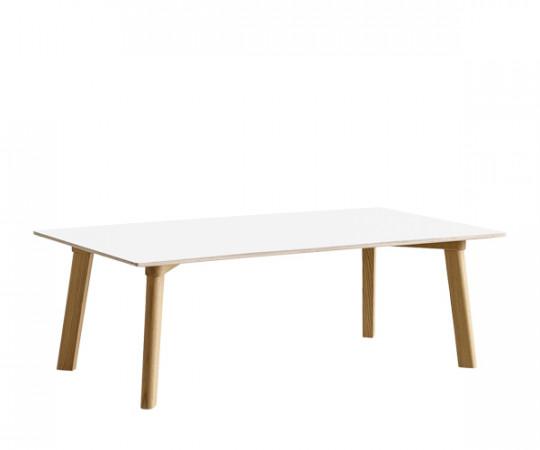 HAY Copenhague Deux Sofabord - Eg/Hvid Laminat 120x60cm - CPH250