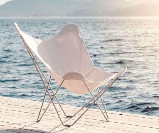 cuero flagermus stol udendørs