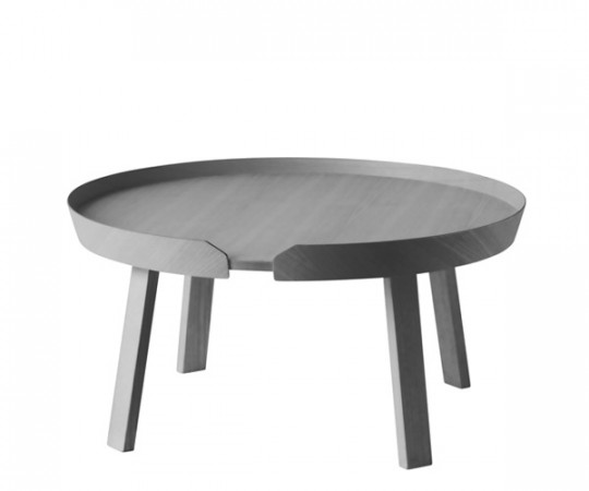 Muuto Around Coffee Table - Stor - Mørk Grå