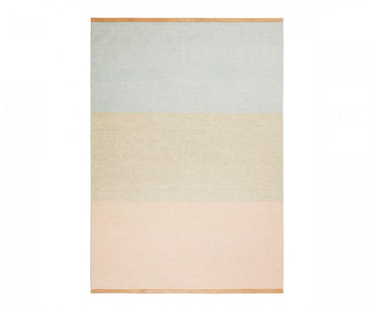 Design House Stockholm Fields Tæppe - Pink Beige Blue - 170x240cm