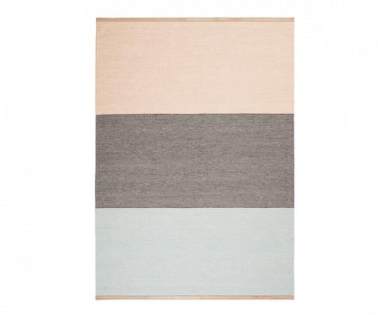 Design House Stockholm Fields Tæppe - Pink Brown Blue - 170x240cm