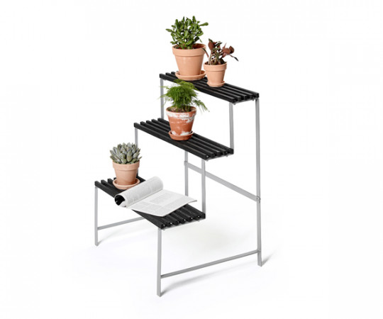 Design House Stockholm Flower pot stand - Dark Grey