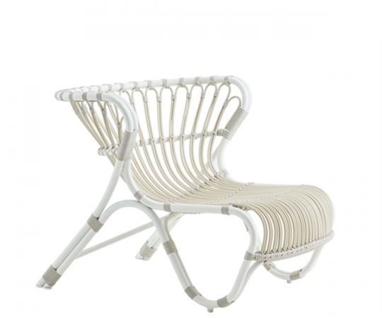Sika Design Fox Exterior Loungestol - Dove White
