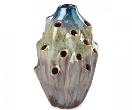 eden outcast lava vase small