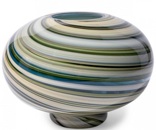 eden outcast twirl vase green