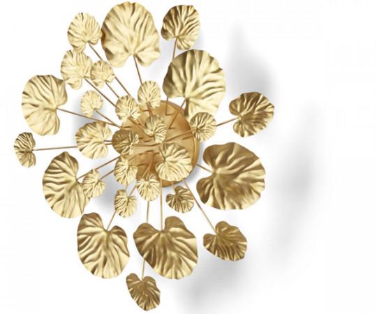 eden outcasr wall flower brass large