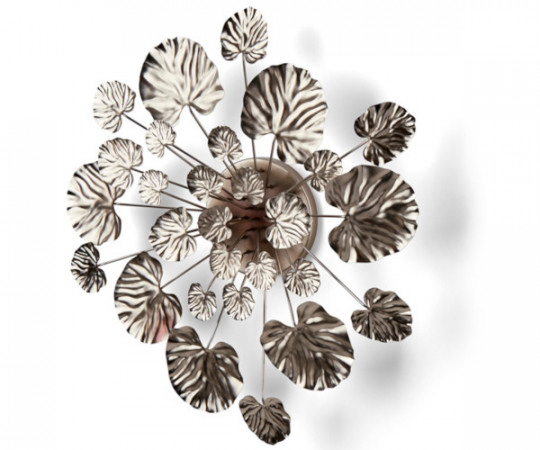 eden outcast wall flower chrome large