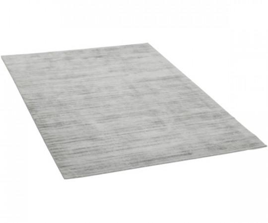 viskose gulvtæppe grå