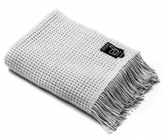 Elvang Basket plaid - Light grey