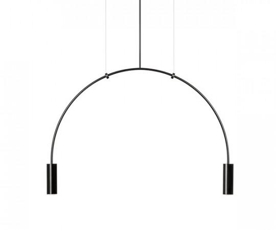 Estiluz Volta Pendel Lampe T3535 - Sort