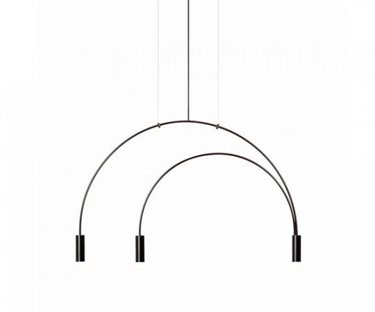 Estiluz Volta Pendel Lampe T3536 - Sort