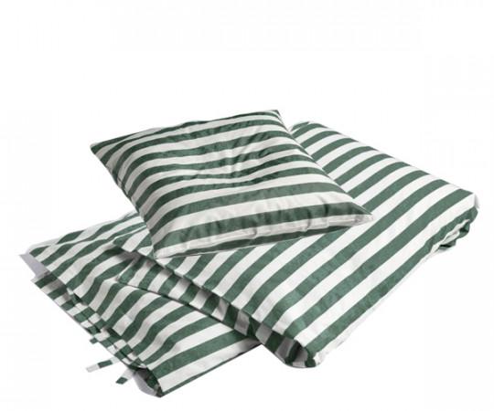 HAY Été sengesæt - dark green - 200x140cm