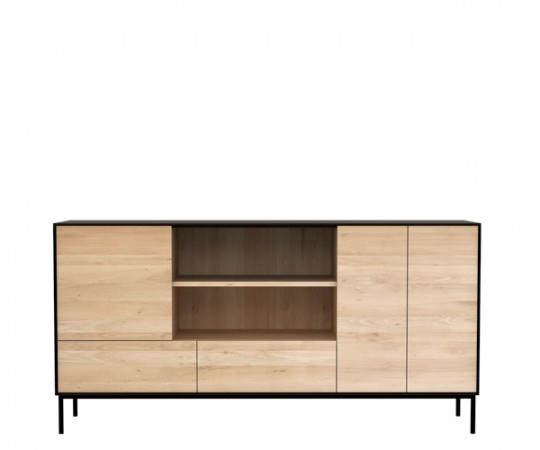 Ethnicraft Oak Blackbird Sideboard