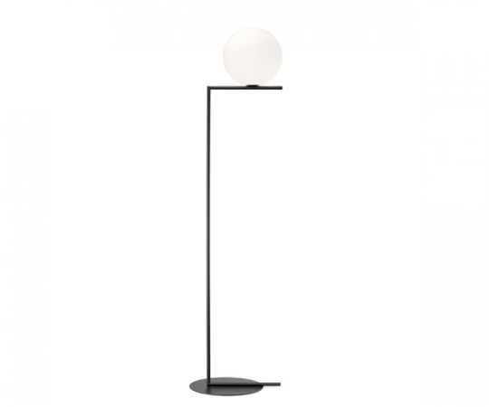 Flos IC Light F1 - Standerlampe - Sort