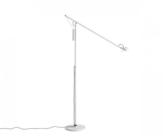 HAY Fifty-Fifty Floor Lamp - Aske Grå