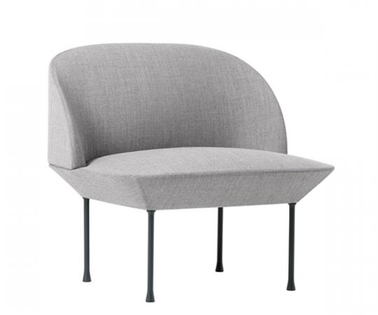 Muuto Oslo Lounge Chair - Fiord 151