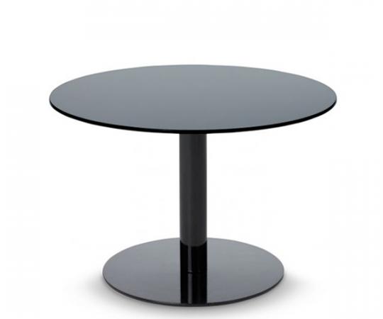 Tom Dixon Flash Table - Circle - Black