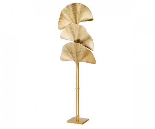 Las Palmas floor lamp Brass