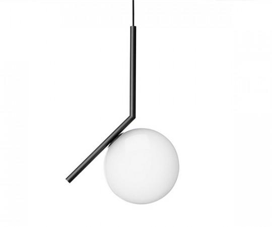 Flos IC S1 Pendel Lampe - sort