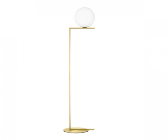Flos IC Light F2 - Standerlampe Messing