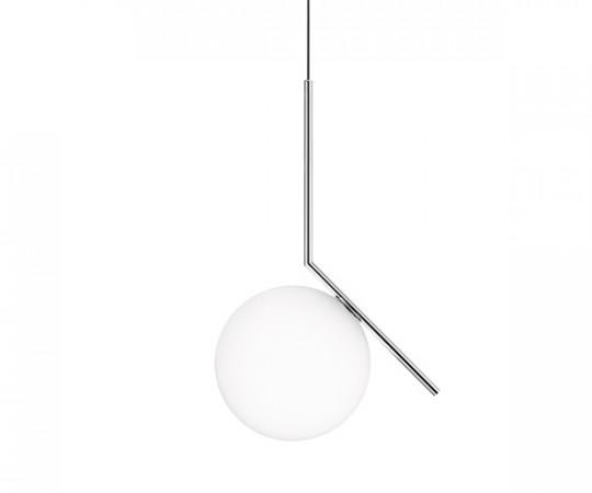 Flos IC Light S2 Pendel Lampe - Krom