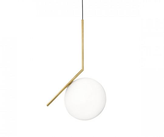 Flos IC Light S2 Pendel Lampe - Messing