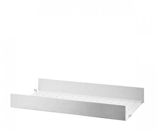 String Metalhylde Høj Kant 58x30cm - Galvaniseret