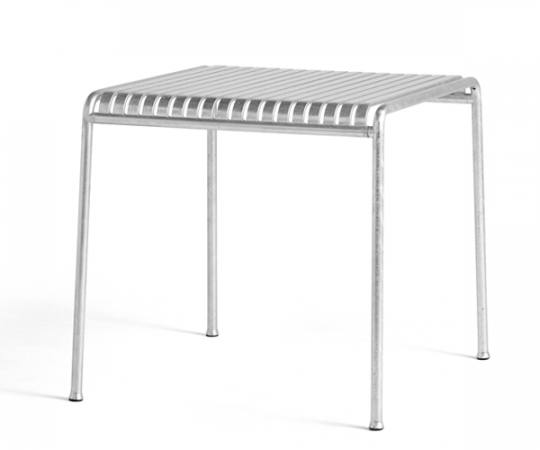HAY Palissade Spisebord - 82.5x90 - Galvaniseret