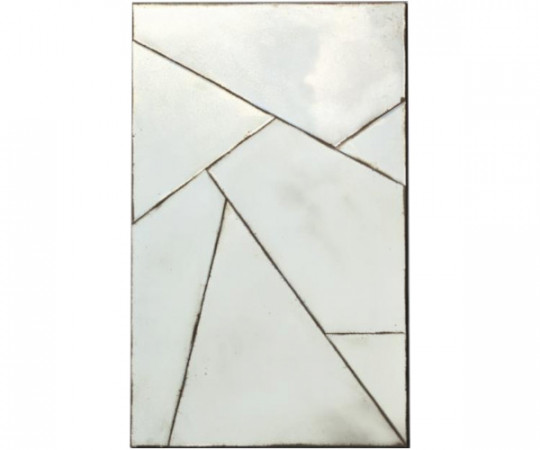 spejl med ældet glas antik spejlglas oxideret spejl