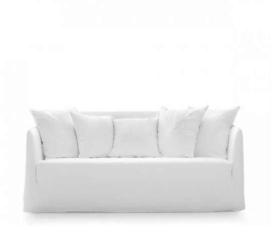 Gervasoni Ghost 10 Sofa - Lino Bianco