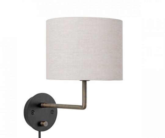 Gubi Gravity Væglampe - Ø30 - Kanvas