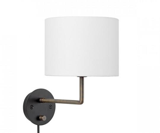 Gubi Gravity Væglampe - Ø30 - Hvid