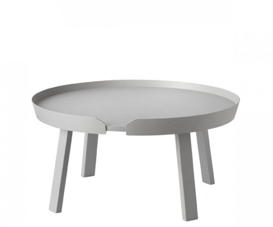 Muuto Around Coffee Table - Stor - Grå