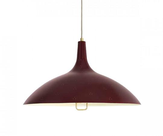 Gubi 1965 lampe rød