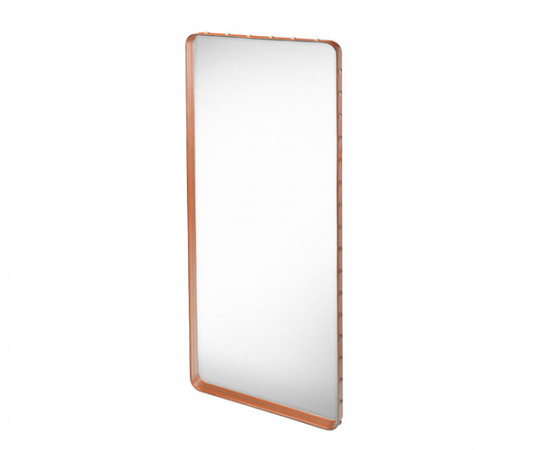 Gubi Adnet Rectangular Mirror Tan - Large