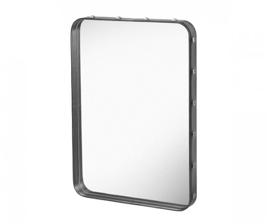 Gubi Adnet Rectangular Mirror Black - Small