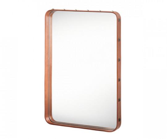 Gubi Adnet Rectangular Mirror Tan - Small