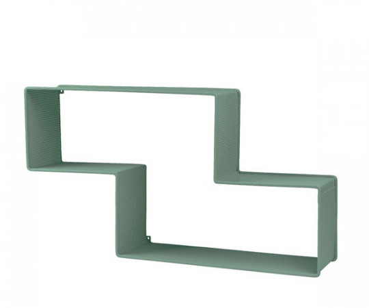 Gubi Dedal bookshelf - dusty green