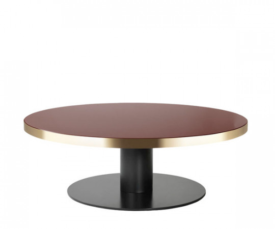 GUBI 2.0 Coffee Table - Rund - Glas - Dia.125cm