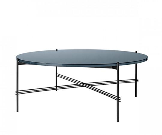 Gubi TS sofabord Coffee table Stor Glas