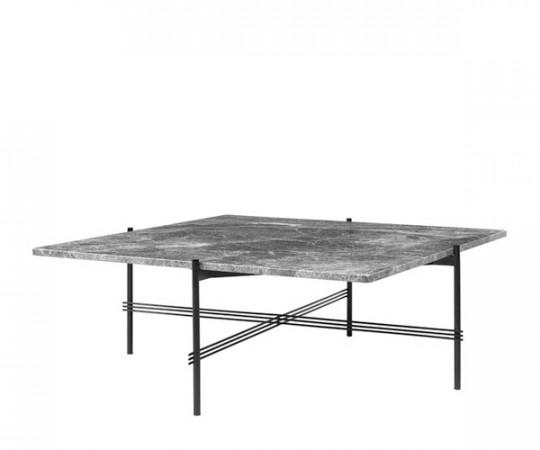 gubi ts sofabord grå marmor firkantet
