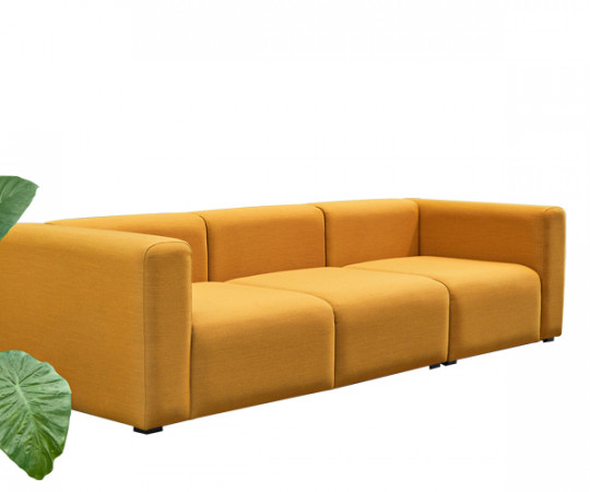 HAY Mags 3 Personers Sofa - Steelcut trio Stof